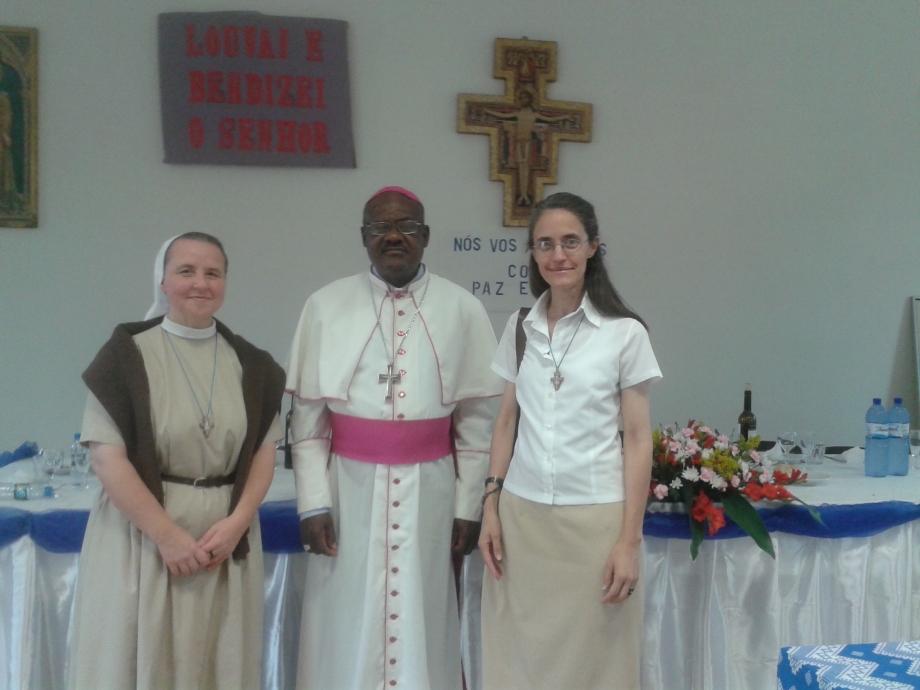 Visita al Vescovo mons. Vincente Kiakiku