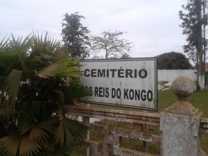 Ingresso del cimitero dei re del Regno del Congo