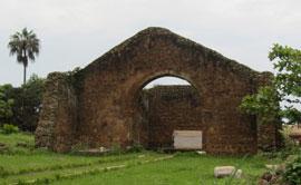 Resti dell'antica Cattedrale di Mbanza Congo